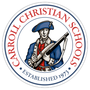 Carroll Christian Patriots Sticky Logo